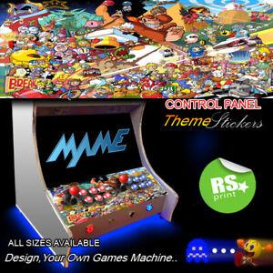 Multi Character Arcade Control Panel Artwork Stickers Graphics Stickers vinyl