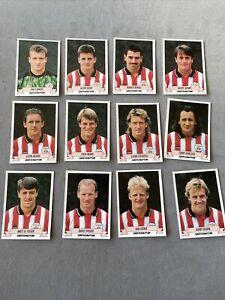 Panini Football 93 Complete Southampton Team Set Stickers + Backs 1993 Rookie