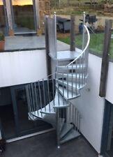 2100mm Internal or External Spiral Fire Escape - Cat C UK regs BS5395 compliant
