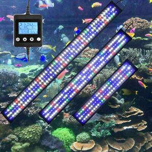 30-180CM Éclairage d'aquarium à LED Lampe poisson végétale au clair de lune