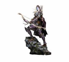 "World of Warcraft Sylvanas 18"" Tall Polystone Statue Authentic Blizzard Blizzcon"