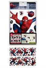 DECOFUN Spiderman 58 Stück Aufkleber Wandsticker Wandtattoo Wandaufkleber NEU