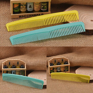 Plastic Travel Disposable Hair Comb Hotel Guest House bathroom Supplies R