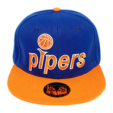 Pittsburgh Pipers Snapback Hat ABA Minnesota Pipers Cap