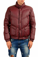 "Moncler Men's ""YADZI"" Vine Red Down Parka Jacket Moncler Sz 3 US M"
