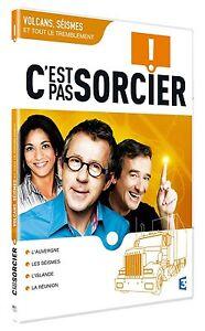 """DVD """"C est Pas Sorcier :volcans ,seismes"""" NEUF SANS BLISTER"""