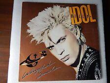 VINYL LP BILLY IDOL -WHIPLASH  CHRYSALIS 1986  OV-41514  PIC SLEEVE