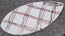 """NEW Wave Zone Squirt 36"""" Fiberglass Skimboard  Beginner - White Red Black WZ"""