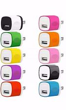 10x 1A Usb Power Adapter Ac Home Wall Charger Us Plug For iPhone 5 6 7 Samsung