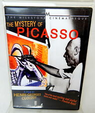 2B DVD THE MYSTERY OF PICASSO The Milestone Cinemaheque Documentary