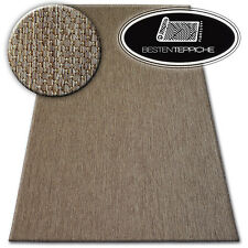 "Modern Natural Sisal Braun Carpet "" Flat Woven Art Despicable Me To Clean"
