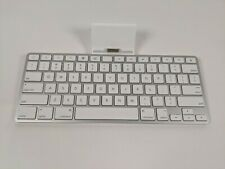 Apple iPad iPhone Keyboard Dock 1st & 2nd Generation Compatible A1359 White