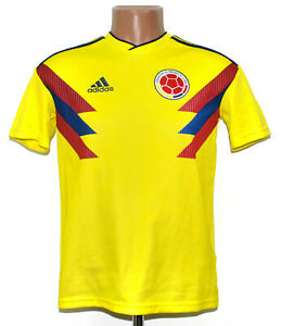 COLOMBIA NATIONAL TEAM 2017/2019 FOOTBALL SHIRT JERSEY ADIDAS YL BOYS