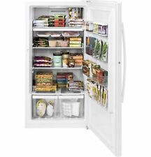 Garage Ready Glass Shelf Upright Freezer-Ge 17 cu.ft. Fuf17Dlrww-Brand New!