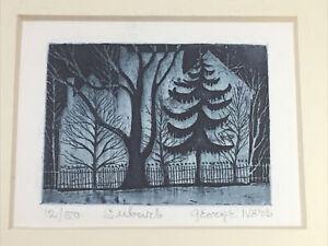 George Ivers Suburb Framed Art Print Night Scene Home Limited Edition Landscape