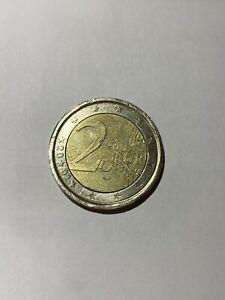 Très rare 2 euro Espagne 2001 fautée cerclage inversé