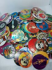150+ vintage pogs milk caps games huge lot mixed poison 8 ball random mix w tube
