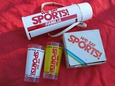 Mazda 323 Familia WE SAY SPORTS drinking set - JDM BD thermos glass Ford Laser