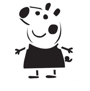 Peppa Pig Stencil A4 /A5 /A6