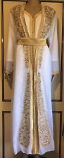 jalabiya maxi dress abaya jilbab farasha kaftan sizes MEDIUM UK SIZE 12/14
