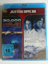 Jules Verne Doppel Box Sammlung  30.000 Meilen unter dem Meer + Mysteriös Island