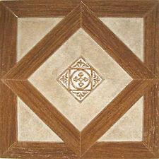 Wood Vinyl Floor Tile 36 Pcs Self Adhesive Flooring - Actual 12'' x 12''