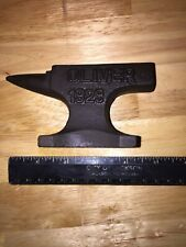 Oliver Tractors Anvil Desk Paperweight 1.5Lbs Solid Metal John Deere Case CAT Ex