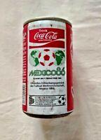 LATTINA COCA COLA SCHUTZMARKE WORLD CUP FOOTBALL MEXICO 86 BIBITA UFFICIALE