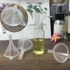 Plastic Small For Perfume Diffuser Bottle Mini Liquid Oil Funnels Lab Useful