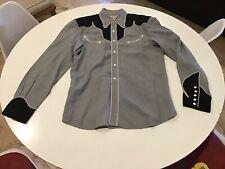 Vintage 1940's Circle A Western Wear Cowboy Shirt Amazing