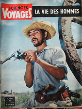 SCIENCE ET VOYAGES n°198 (juin 1962) Corse - Bouleau nain - Leds Tshyokwe -