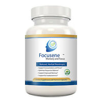 Focusene - Complete, Natural Nootropic - Luteolin+Forskolin+Ginkgo - ADD/ADHD