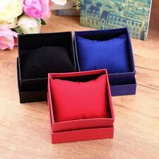 Black Present Gift Boxes Case For Bangle Ring Earrings Wrist Watch Box
