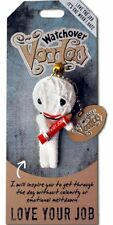"Watchover VOODOO DOLL Keychain, LOVE YOUR JOB, Love The Job, 3"" Tall"