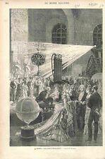 OBSERVATOIRE DE PARIS Astronome Astronomie Urbain Le Verrier Astronomy 1874