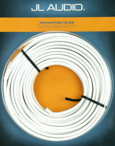 JL Audio XM-WHTSC12-25 12 gauge AWG 25 feet Conductor Marine Speaker Cable NEW