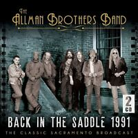 THE ALLMAN BROTHERS - BACK IN THE SADDLE (LIVE 1991) 2CD