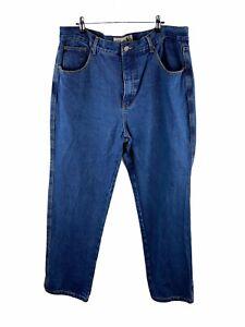 Bulls Head Denim Junkyard Jeans Mens Size 38 Blue Classic Fit Zip Close Pockets