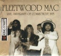 Fleetwood Mac - Live.. University of Connecticut, 1975 (2018)  CD NEW SPEEDYPOST