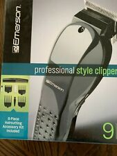 Emerson Professional Style Clippers 9 Pieces - NEW New in Box