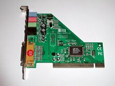 PCI 4.0 Soundkarte Audio Excel AV511-SX, C-Media CMI8738/PCI-SX, gebraucht