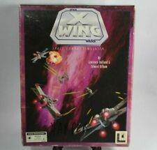 Star Wars: X-Wing Space Combat Simulator - 5 Floppy Disc (PC, 1992)