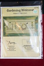 GARDENING WELCOME Cross Stitch Kit by Diane Arthurs UNOPENED 1996