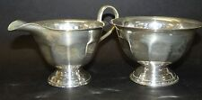 """Milk and Sugar """"Sheffield"""" electro plated, h-7 cm (243/4067)"""