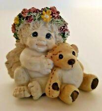 "Dreamsicles Cherubs Figurine ""Playmates"" 1996 Vintage"