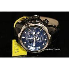 Relojes de pulsera Chrono de acero inoxidable de cuero
