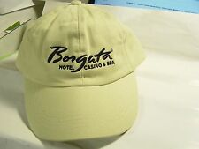 Borgata Casino, Hotel And Spa baseball hat Tan New With Tag One Size