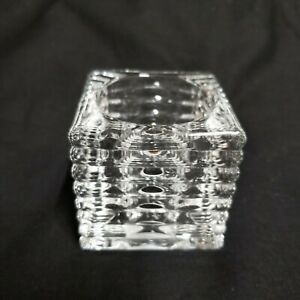 Hampton Bay Replacement Cube Glass Globe for Olivet Chrome Vanity Bathroom Light