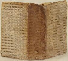 GIACOMO MANCINI PRACTICA VISITANDI INFIRMOS MANCINO 1641 EUTANASIA ERESIA MORTE