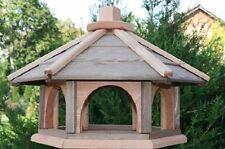 VOGELHAUS aus HOLZ Vogelhäuschen Vogelhäuser mit Ständer  Vogelfutterhaus XL
